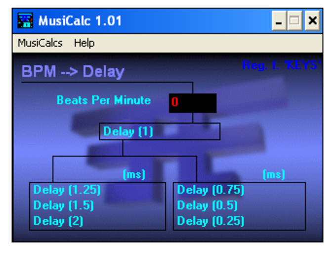 MusiCalc