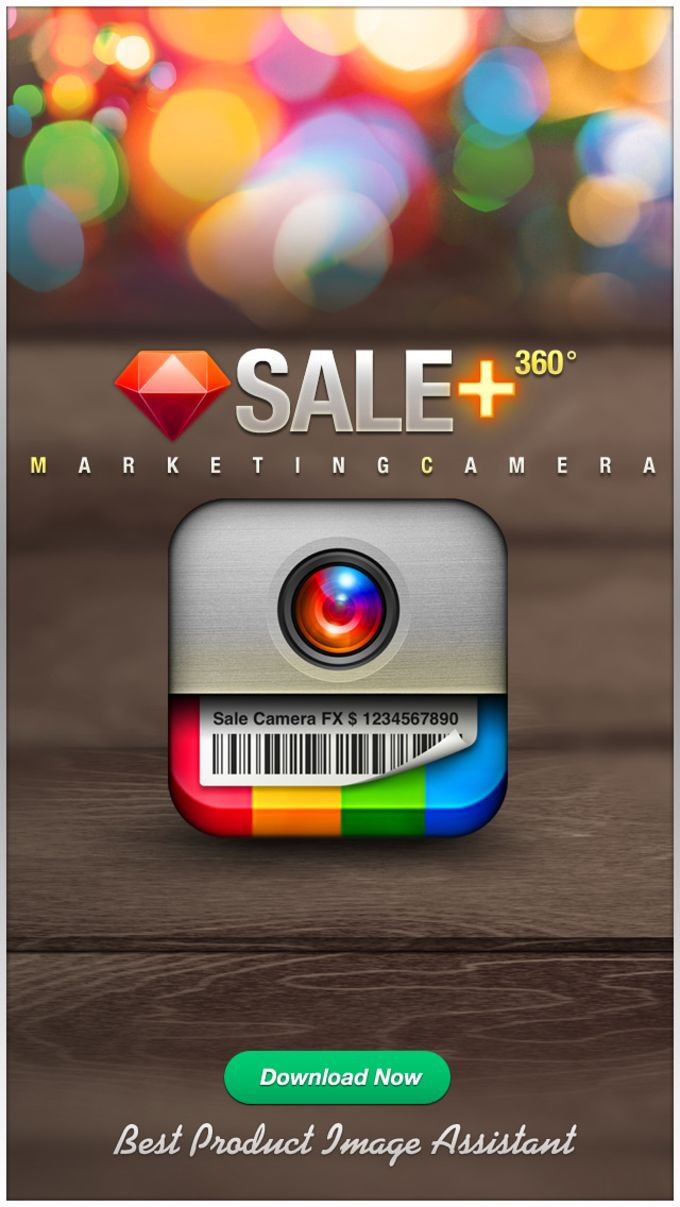 VENTA 360 - cámara de marketing efectos más Photo Editor creador visual