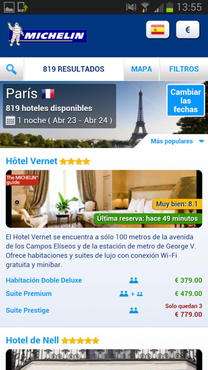 Michelin Hoteles