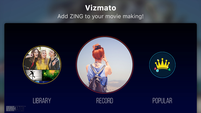 Vizmato - Add ZING to your movie making!