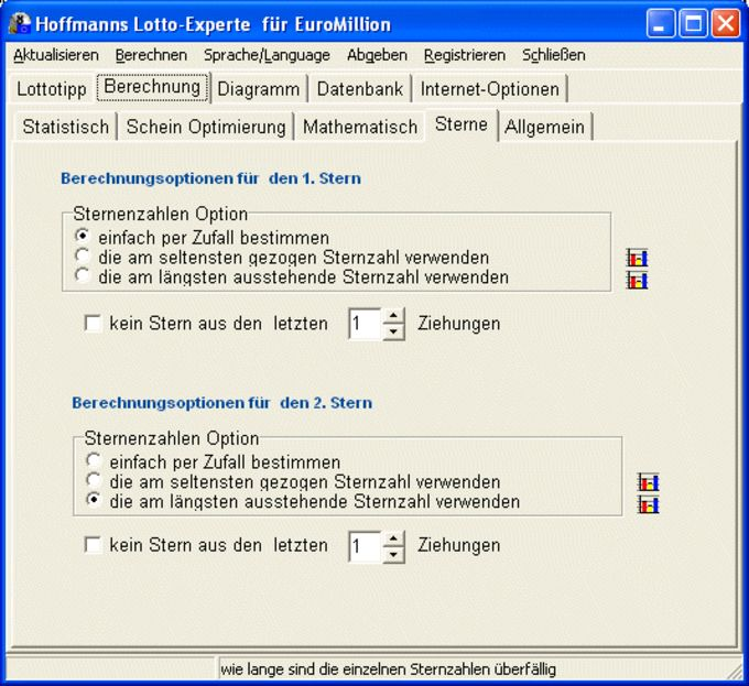 Hoffmanns Lotto-Experte EuroMillion
