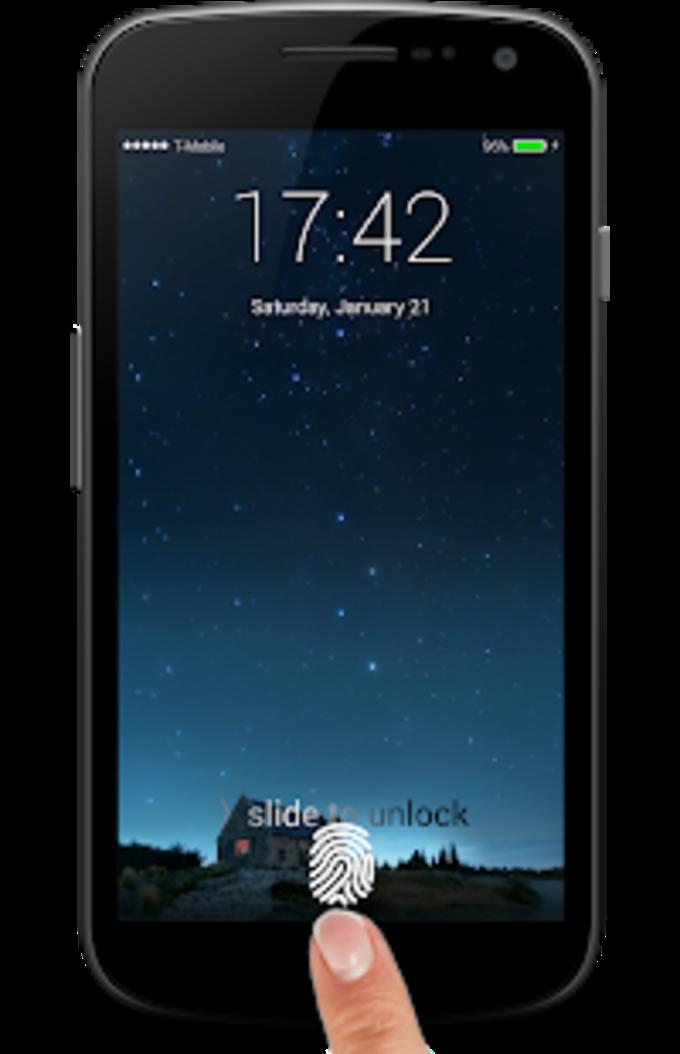 iLocker:Finger Lockscreen OS10 with notification