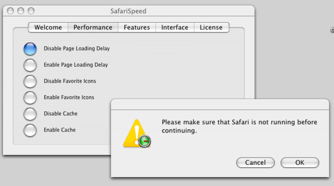 SafariSpeed
