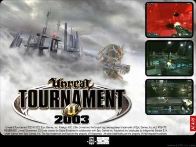 Unreal Tournament  2003 Screensaver
