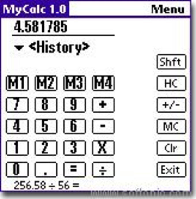 MyCalc