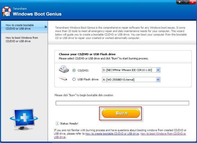 Windows Boot Genius