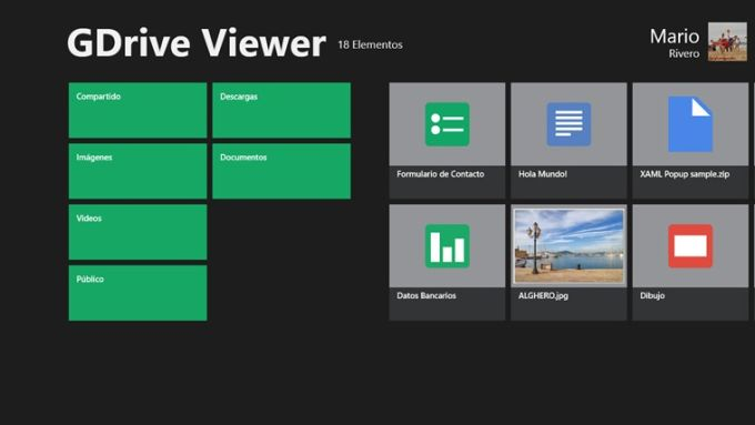 GDrive Viewer for Windows 10