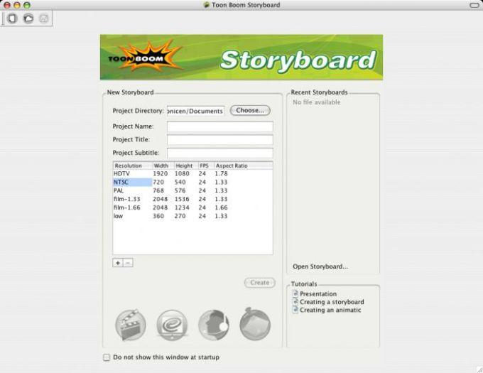 Toon Boom Storyboard