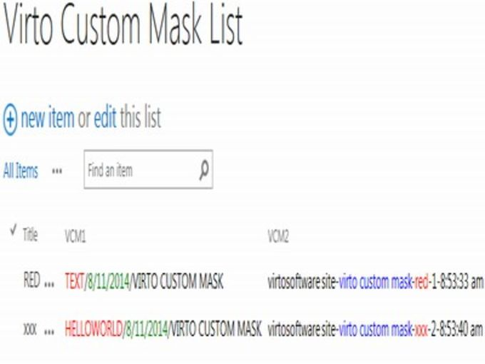 Custom Mask Web Part for SharePoint