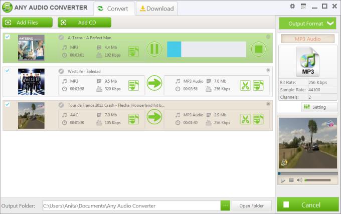 Any Audio Converter Freeware