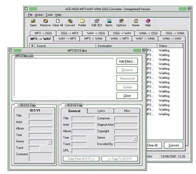 MP3 WAV WMA Converter