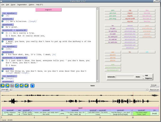 Transcriber