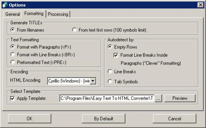 Easy Text To HTML Converter