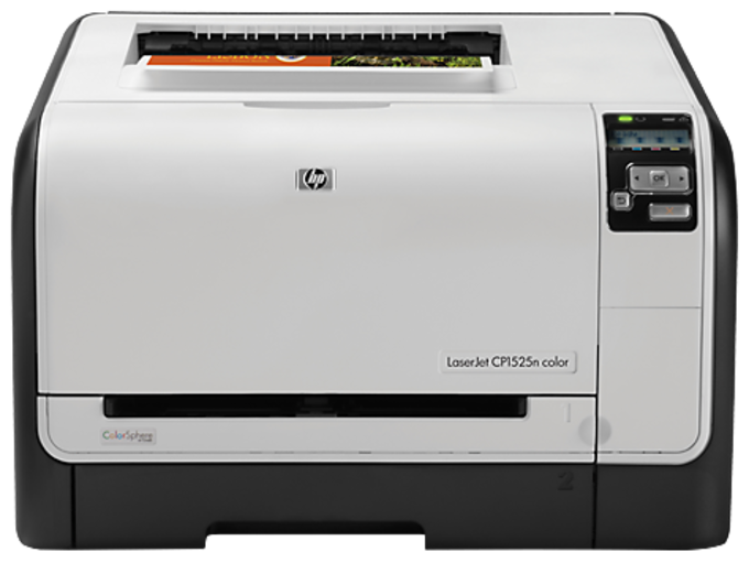 HP LaserJet Pro CP1525n Color Printer drivers