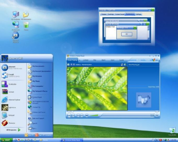 Windows Media Player 10 Visual Style