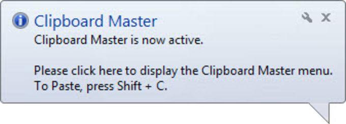Clipboard Master