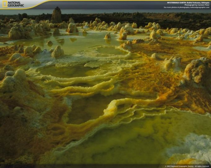 National Geographic Mysterious Earth Screensaver