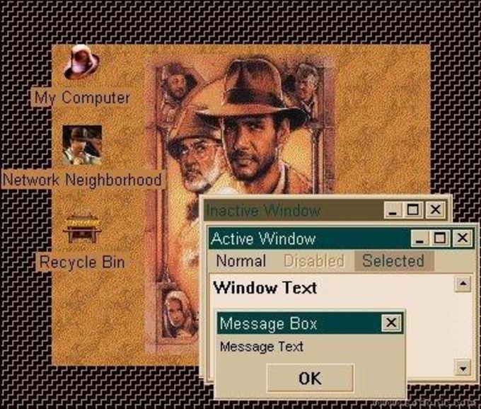 Indiana Jones Trilogy Desktop Theme