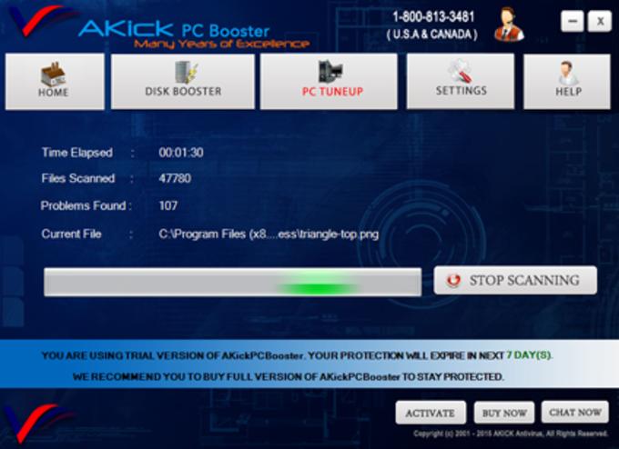 AKick PC Booster