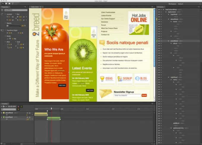 Adobe Edge Animate