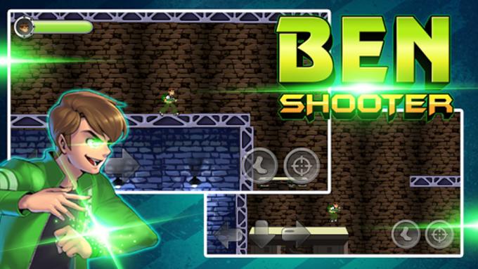 Ben Ultimate Shooter Alien