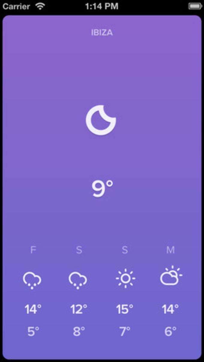 Sky - Minimal Weather