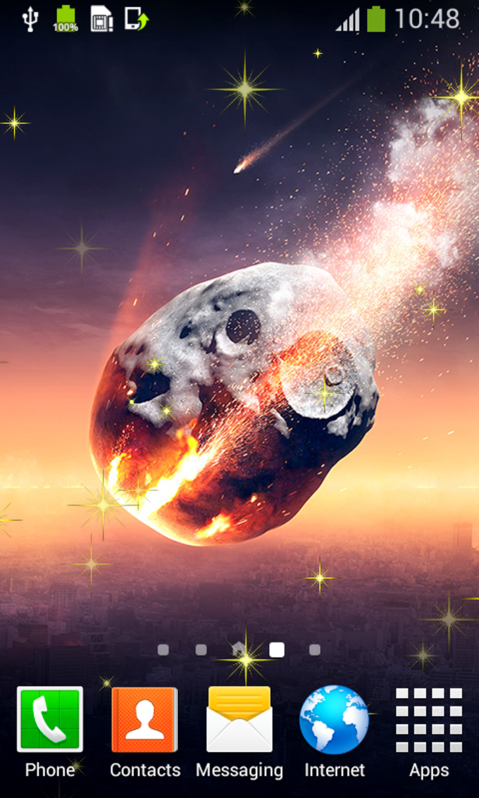 Earth & Space Live Wallpapers