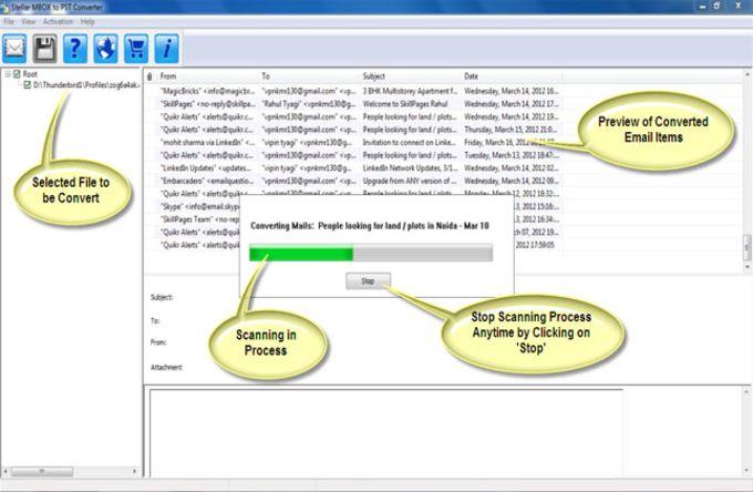IBID Info MBOX to PST Converter