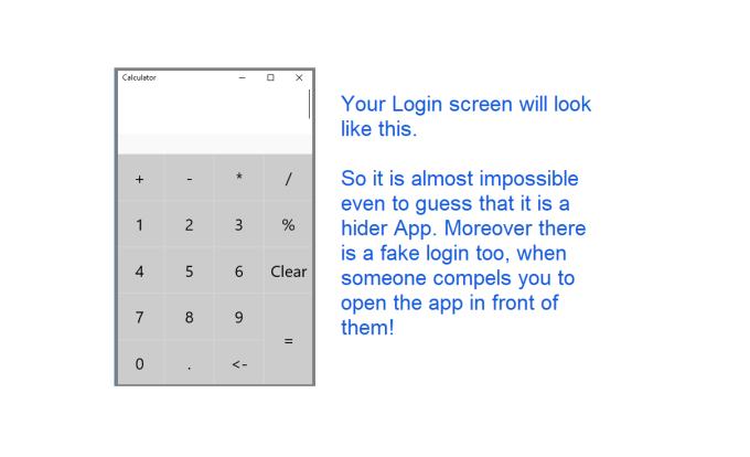 File Hider (Secret Photos Videos Intelligent Calculator Locker & Hider)