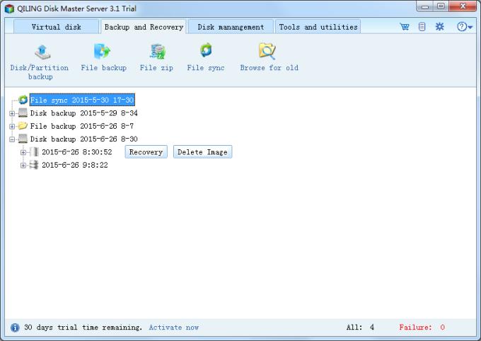 QILING Disk Master Server