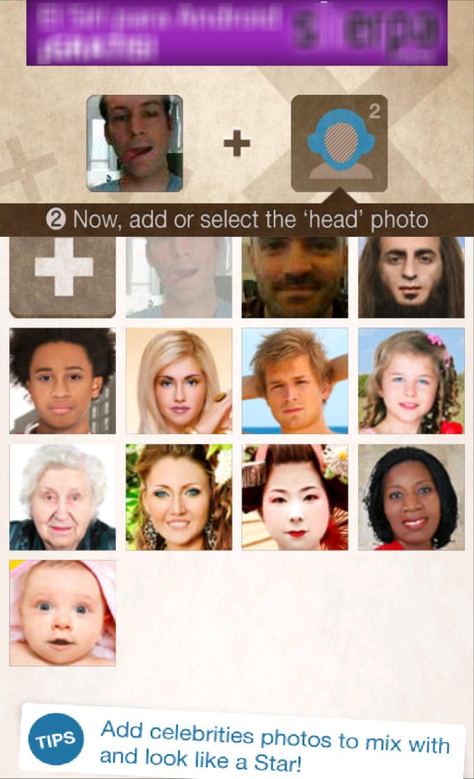 Les 10 portraits de la base de données