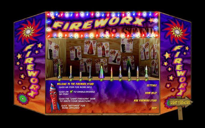 FireworX Stand FREE