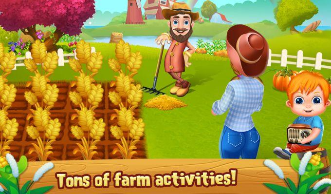 My Sweet Little Girl Farm