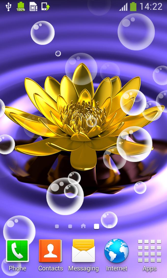 Lotus Live Wallpapers
