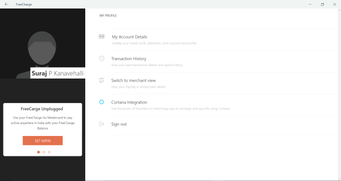 FreeCharge - Mobile Recharge, Wallet & Bill Pay
