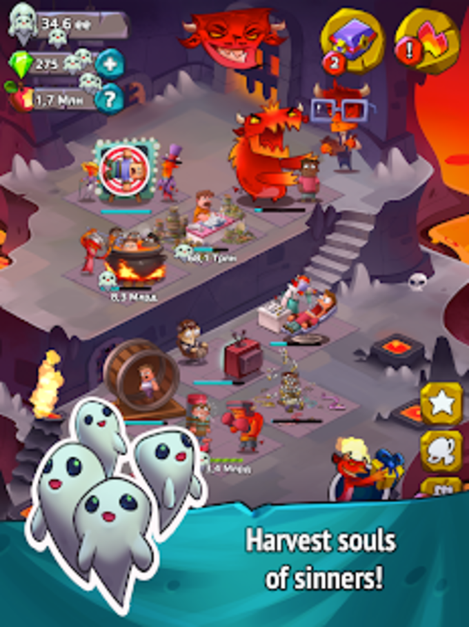 Idle Heroes of Hell - Clicker  Simulator Pro