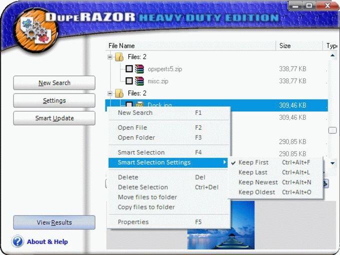 DupeRAZOR - Duplicate Files Removal Kit