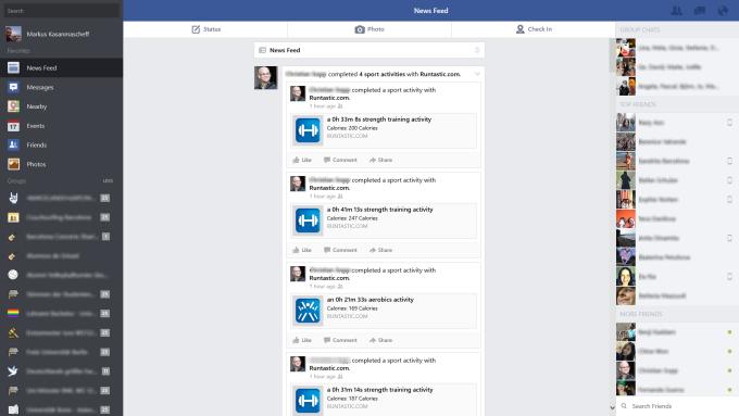 Facebook pour Windows 10