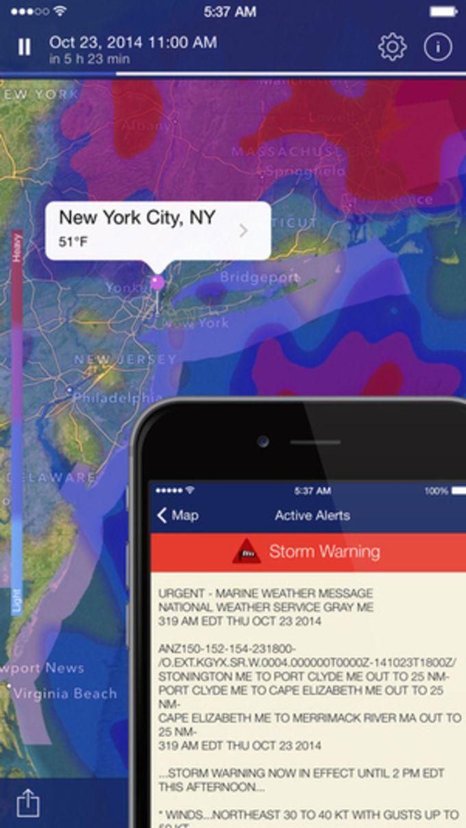 NOAA Radar Pro – Weather Alerts & Forecast