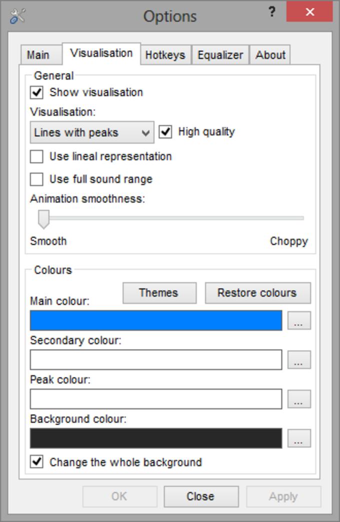 Digitally Imported Windows Player