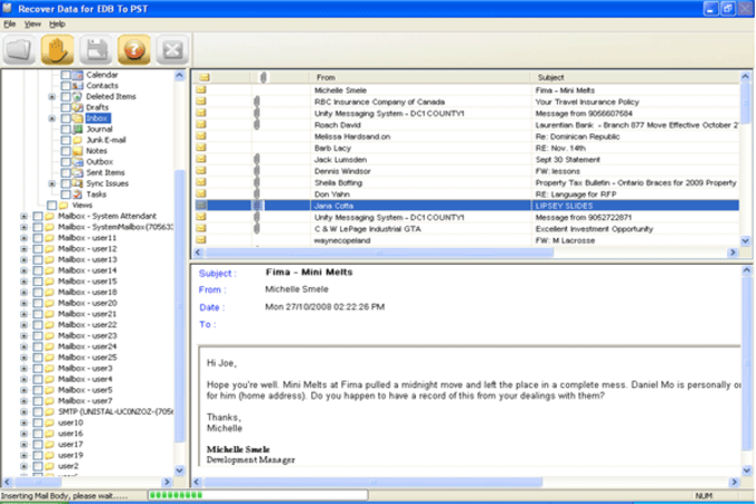 Free Download EDB to PST Converter