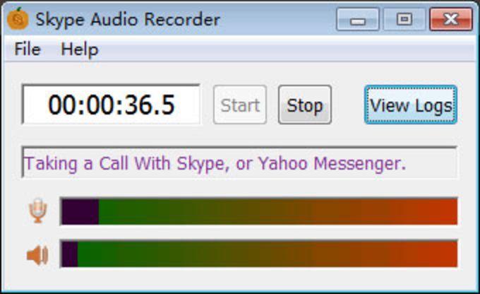 Skype Audio Recorder
