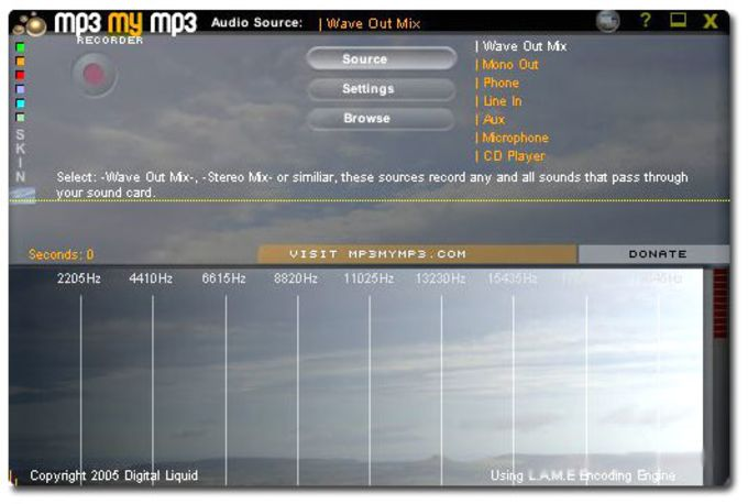 MP3myMP3 Free Sound Recorder