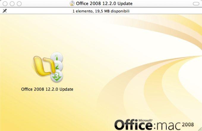 Microsoft Office 2008 per Mac Service Pack 2