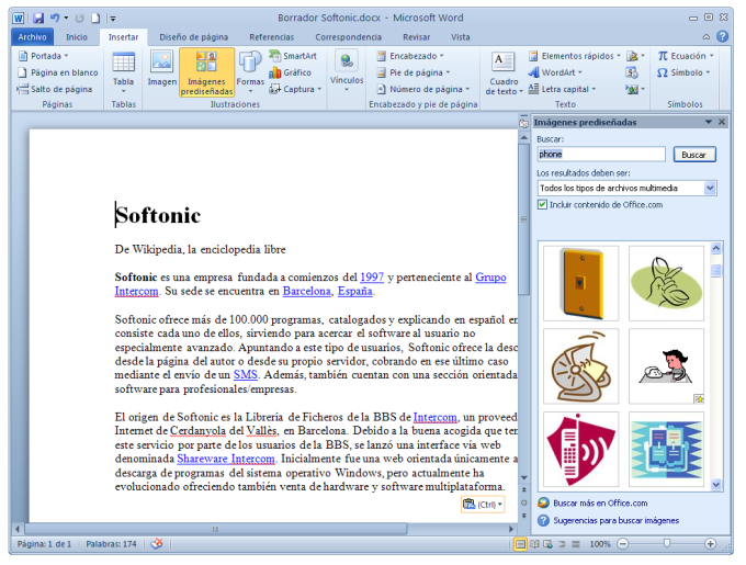 how to create a logo in microsoft word 2010