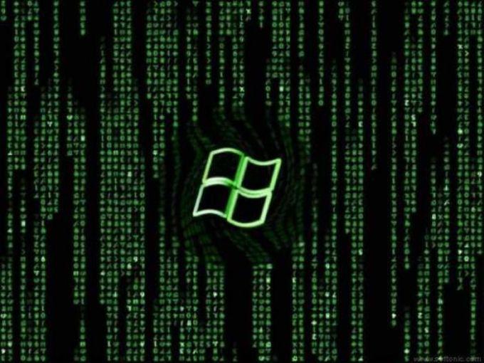 Matrix XP Wallpaper