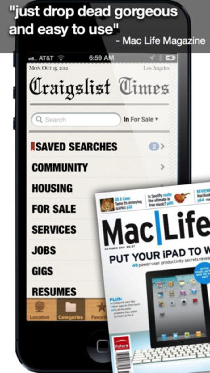 craigslist app for iphone craigslist for iphone ダウンロード 13905