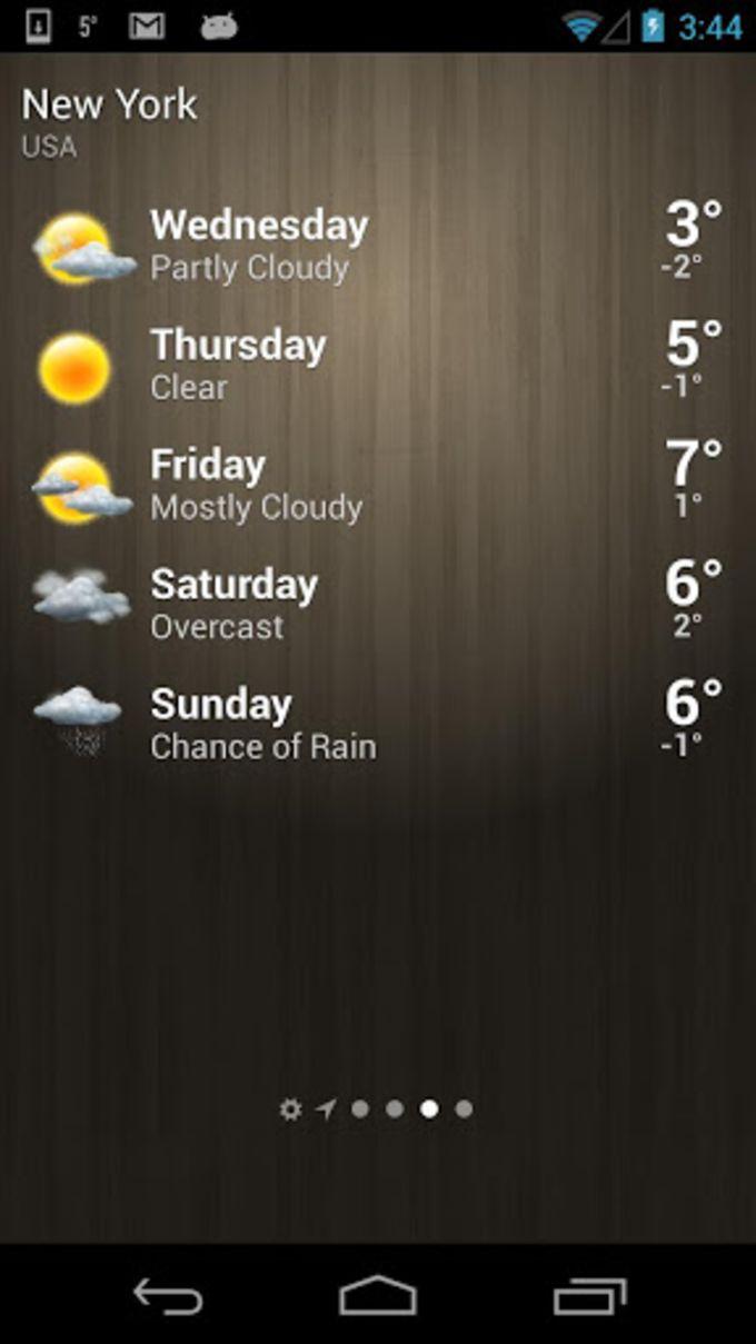 Pogoda - Weather