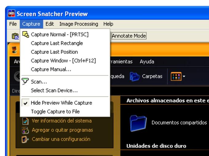 Screen Snatcher