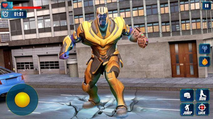Thanos Vs Avengers Superhero Infinity Fight Battle